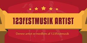 Hulens Musik præsentationsside på  123festmusik.dk :  Live party band der spiller god musik